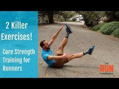 Core Strength Training for Runners  2 Killer Excercises