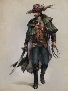 Musketeer from the wild west by LeraStyajkina.deviantart.com on @DeviantArt