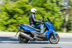 Kymco K-XCT 125 - Alma Desportiva - Test drives - Andar de Moto
