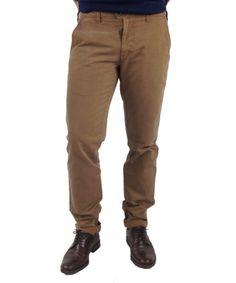 Υφασμάτινο παντελόνι Trial OLIVER Ταμπά #ανδρικάπαντελόνια #υφασμάτινα #μόδα #ρούχα #στυλ #χρώματα Khaki Pants, Fashion, Moda, Khakis, Fashion Styles, Fashion Illustrations, Trousers
