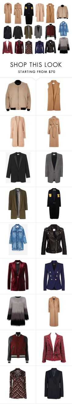 1515 by pr-kino on Polyvore featuring мода, Yves Saint Laurent, Jason Wu, Emilio Pucci, Chanel, Off-White, Balmain, Anine Bing, Alexander Wang and Acne Studios