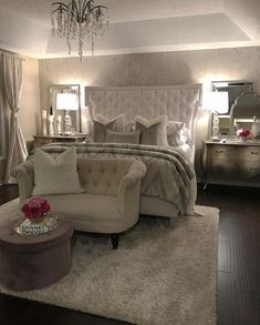 Bedroom Design Ideas – Create Your Own Private Sanctuary Dream Rooms, Dream Bedroom, Home Bedroom, Modern Bedroom, Bedroom Decor, Bedroom Ideas, Bedroom Furniture, Furniture Decor, Peaceful Bedroom
