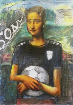 Mona Lisa juf Joanneke