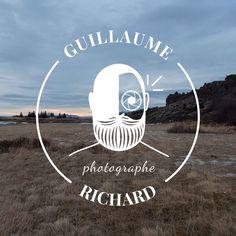 L'insufflerie a créé ce logo pour l'activité de photographe de Guillaume Richard en Moselle. Il souhaitait un logo qui le représente, avec sa barbe et son objectif. Mission accomplie ! Logo, Beards, Purpose, Home Made, Photography, Logos, Environmental Print