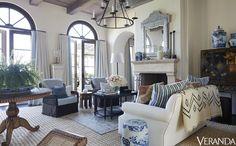 Dynamic California Living Room