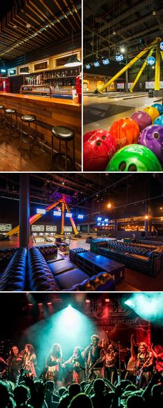 The US inspired Brooklyn Bowl is perfect if you're looking for London stag do ideas