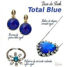 Dica de Look Total Blue