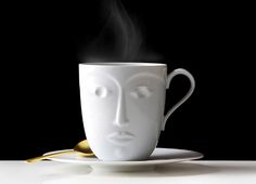 SIEGER BY FÜRSTENBERG Temptation Objects to a Muse Hot mug | My China! White saucer