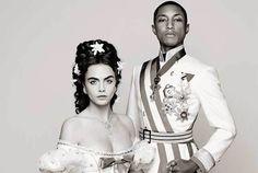 Новый фильм Chanel с Карой и Фаррелом   Charmit.ru
