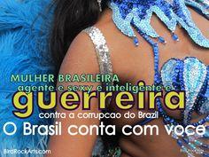 Nao e o que o Brasil pode fazer por voce, e o que voce pode fazer pelo Brasil. #VerásQueUmFilhoTeuNãoFogeALuta