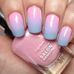 """""""Another pic of my @iscreamnails gradient  Check out previous posts for tutorial and details on products used """""""