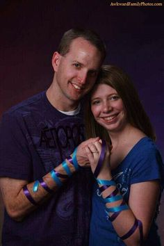 awkward engagement photo: The Ties That Bind