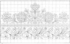 Free Embroidery Patterns - Free Patterns Suitable for Hand and Hand Embroidery Design Patterns, Embroidery Works, Folk Embroidery, Embroidery Transfers, Learn Embroidery, Vintage Embroidery, Embroidery Ideas, Mandala, Do It Yourself Inspiration
