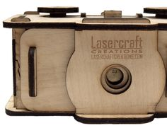 35mm pinhole camera, laser cut out of plywood by LasercraftCreations on Etsy https://www.etsy.com/listing/213822211/35mm-pinhole-camera-laser-cut-out-of