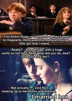 Ron+Hermione