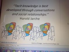 Charlotte Hitchcock @gremlin2c Creating the space for people to interact and share knowledge #SHCR pic.twitter.com/k9qOMg6Ylb