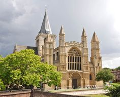 Rochester Cathedral, or the Cathedral Church of Christ and the Blessed Virgin Mary, is a Norman church in Rochester, Kent.