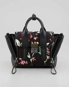 Pashli Floral Mini Satchel Bag by 3.1 Phillip Lim at Neiman Marcus.  625  Hermes Handbags 40bc5e4542a6c