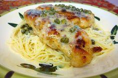 Chicken in Lemon Butter Caper Sauce | Plain Chicken