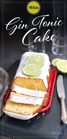 Gin Tonic Kuchen Gin and tonic cake - bake to the roots Cake Recipes Without Oven, Cake Recipes From Scratch, Easy Cake Recipes, Healthy Dessert Recipes, Dessert Simple, Homemade Desserts, Easy Desserts, Gin And Tonic Cake, Russian Honey Cake