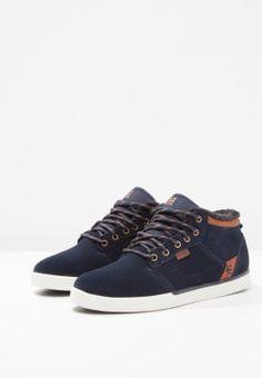 428211ecee JEFFERSON - Skate shoes - navy brown white   Zalando.co.uk 🛒