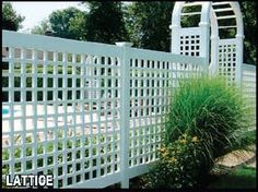 Vinyl Lattice Fencing | Connecticut Fence Company | CT Fence