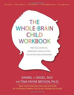 The Whole-Brain Child Workbook: Practical Exercises, Worksheets and Activities to Nurture Developing Minds: Daniel J Siegel, Tina Payne Bryson: 9781936128747: Amazon.com: Books