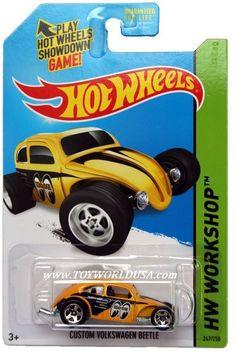 2014 Hot Wheels #247 HW Workshop HW Performance Custom Volkswagen Beetle