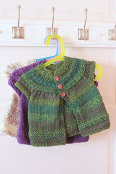 Short Sleeve Baby Sweater by DonuraDesigns on Etsy, $35.00