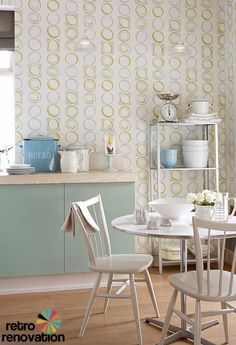 Retro wallpaper from original 1960s and 1970s designs – new from Little Greene