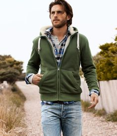 well hello guy in cute green jacket, that i would borrow...