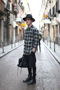 dr martens and barber jacket - Google Search