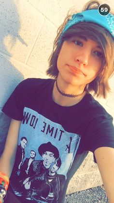 He is the cutest, the latest MDE video us soo funny, he kisses Johnnie on the cheek <3