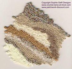 Ravelry: Tuto 4 Freeform Fabric pattern by Sophie GELFI Designs