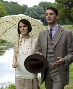 the-garden-of-delights:  Michelle Dockery as Mary Talbot and Matthew Goode as Henry Talbot in Downton Abbey (2015 Christmas Special).