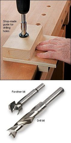 Dog Hole Bushings and Bits - Woodworking