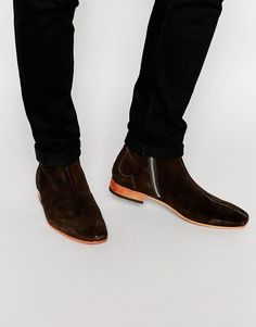 Image 1 of Jeffery West Suede Zip Boots