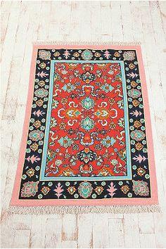 Teppich im Antik-Look, 4 x 6 Fuß