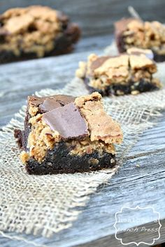 Brownie Oatmeal Cookie Bars, #Bars, #Brownie, #Cookie, #Oatmeal