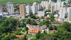 Em 1924 foi inaugurado o Sanatório Vicentina Aranha, o maior do país.  Somente em 1935, com os investimentos do governo de Getúlio Vargas e a transformação do município em estância climatérica e hidromineral, o município pôde investir em infraestrutura, principalmente na área de saneamento básico, que no futuro viria a ser um trunfo a mais para a atração de investimentos destinados ao desenvolvimento industrial.