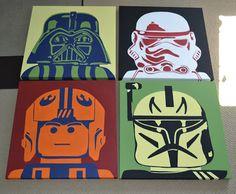 You're Art by Corie Kline: Star Wars Legos Pop Art