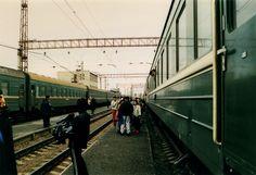 Chinese market on train (Transiberian train)