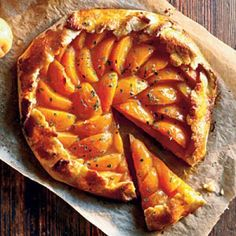 Healthy Apricot-Thyme Galette Recipes | CookingLight.com