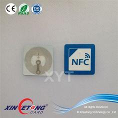 25x25mm  Ntag203 Rfid NFC sticker