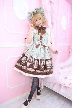 Angelic Pretty Musée du Chocolat dress ♡