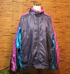 Nike Wind Breaker Track Jacket XXL 1X 2X Retro Vintage Nylon Unisex Gray Tag | Clothing, Shoes & Accessories, Men's Clothing, Coats & Jackets | eBay!