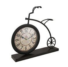 Vintage High Wheel Bicycle Metal Mantel Clock  #Bicycle #Clock #High #Mantel #Metal #RusticMantelClock #Vintage #Wheel The Rustic Clock