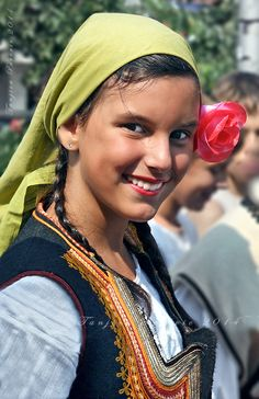 Girl in national dress of my hometown Pirot, Serbia Tanjica Perovic Photography