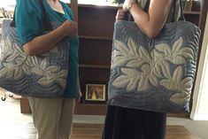 """お母さまのリクエストバッグ for mom-in-law ハワイアンキルトインストラクター""""PONO""""の渋谷とハワイいったりきたり"""