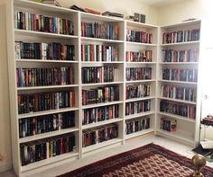 Ladies and gentlemen let me introduce you to my new bookshelves!!  #shelfie #bookstagram #bookshelf by sashaalsberg